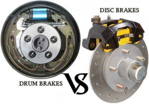 Drum Brake Versus Disc Brake