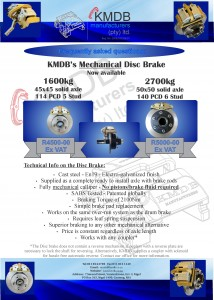 Frequently asked questions on the mechanical disc brake
